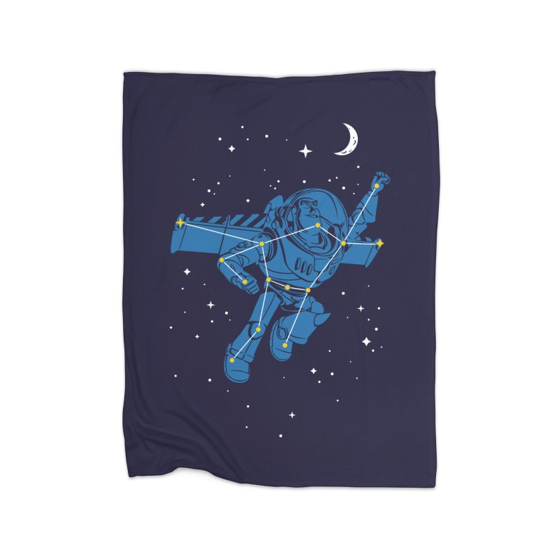 Universal Star Home Fleece Blanket by CPdesign's Artist Shop