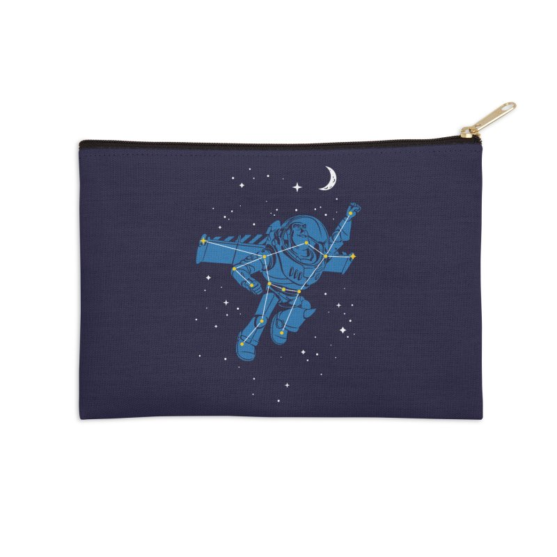 Universal Star Accessories Zip Pouch by CPdesign's Artist Shop