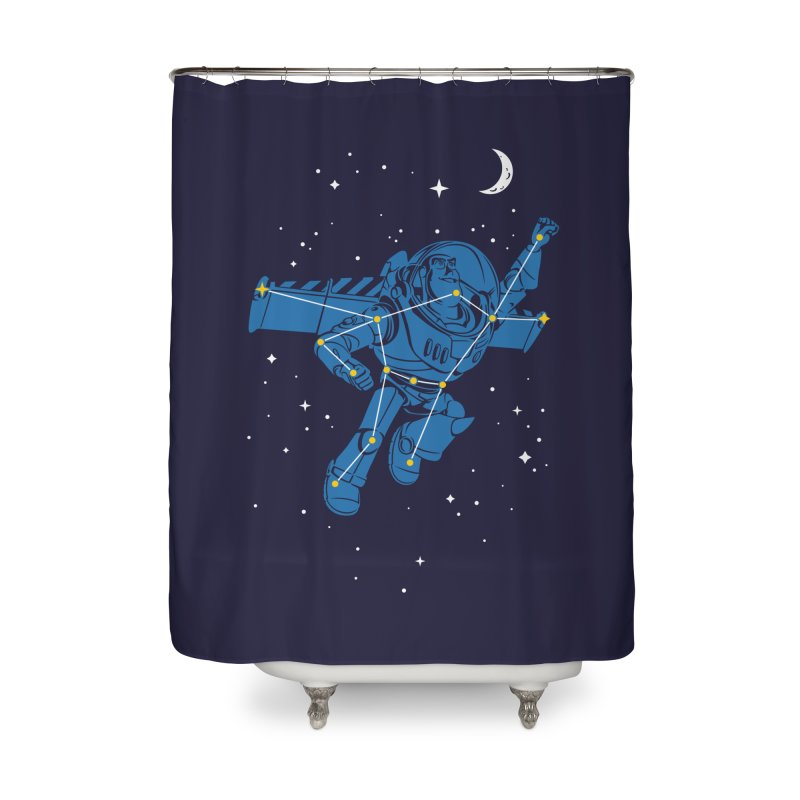 Universal Star Home Shower Curtain by CPdesign's Artist Shop