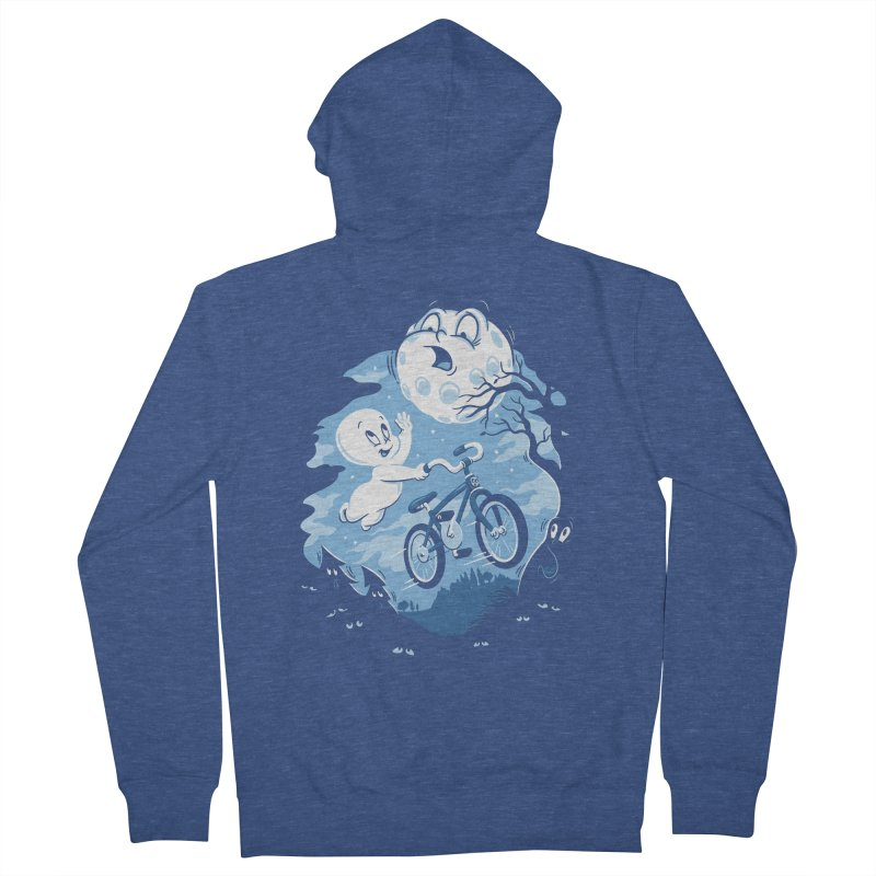 Ghost Rider Women's French Terry Zip-Up Hoody by CPdesign's Artist Shop