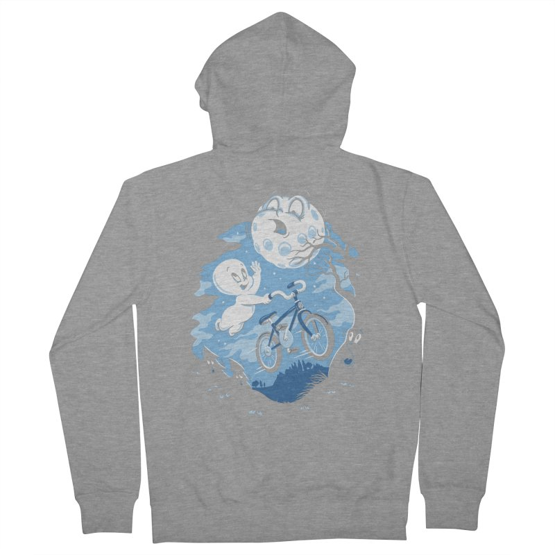 Ghost Rider Men's French Terry Zip-Up Hoody by CPdesign's Artist Shop