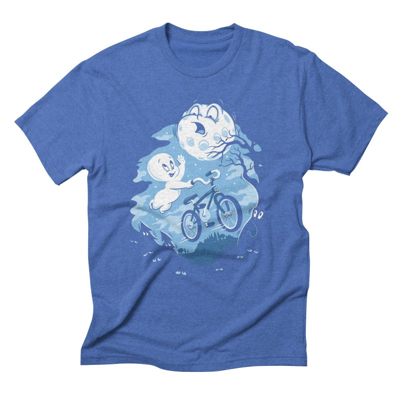 Ghost Rider Men's Triblend T-shirt by CPdesign's Artist Shop