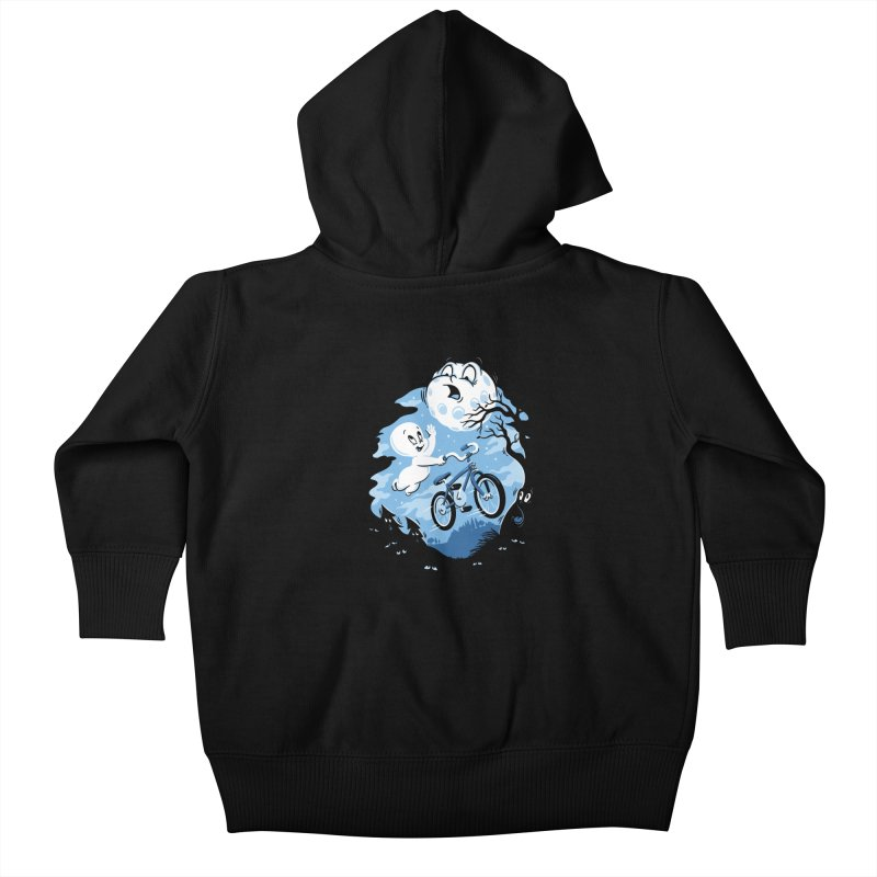 Ghost Rider Kids Baby Zip-Up Hoody by CPdesign's Artist Shop