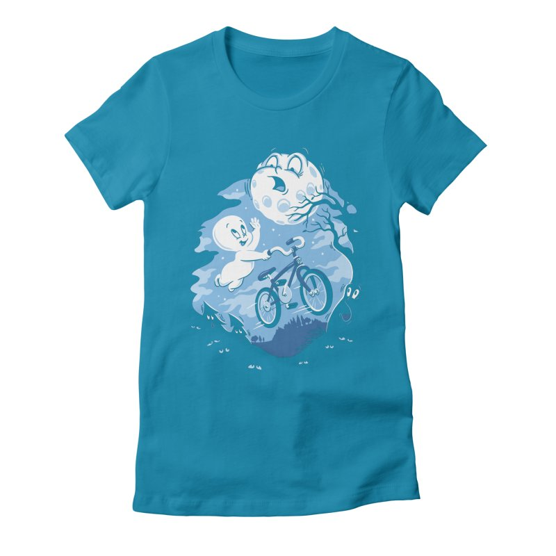 Ghost Rider Women's Fitted T-Shirt by CPdesign's Artist Shop
