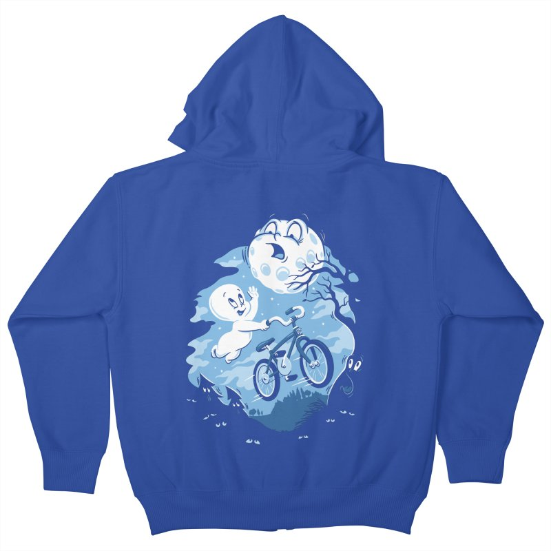 Ghost Rider Kids Zip-Up Hoody by CPdesign's Artist Shop