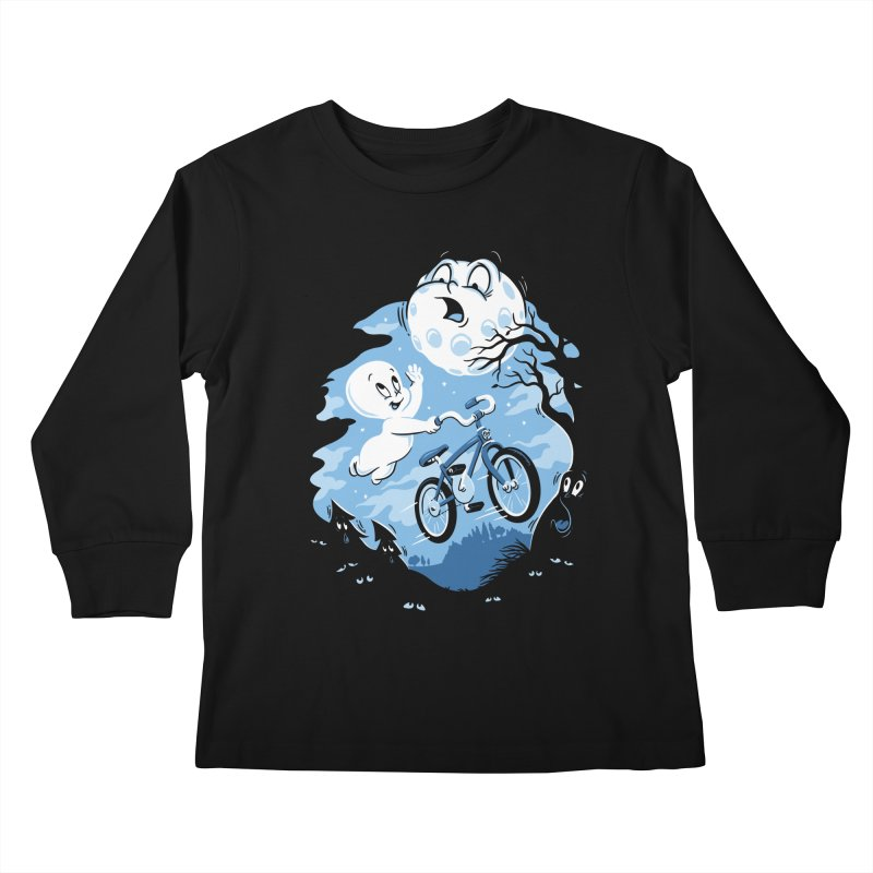 Ghost Rider Kids Longsleeve T-Shirt by CPdesign's Artist Shop