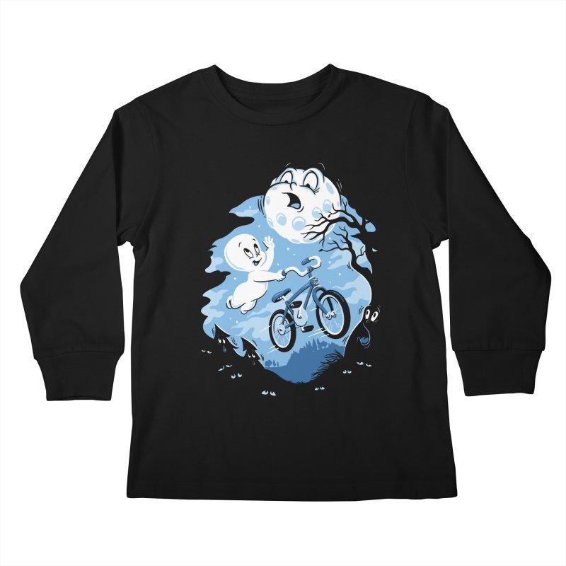 Ghost Rider Kids Longsleeve T-Shirt by CPdesign's Artist Shop