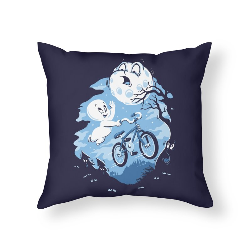 Ghost Rider Home Throw Pillow by CPdesign's Artist Shop