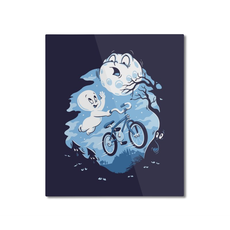 Ghost Rider Home Mounted Aluminum Print by CPdesign's Artist Shop