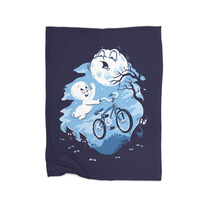 Ghost Rider Home Fleece Blanket by CPdesign's Artist Shop