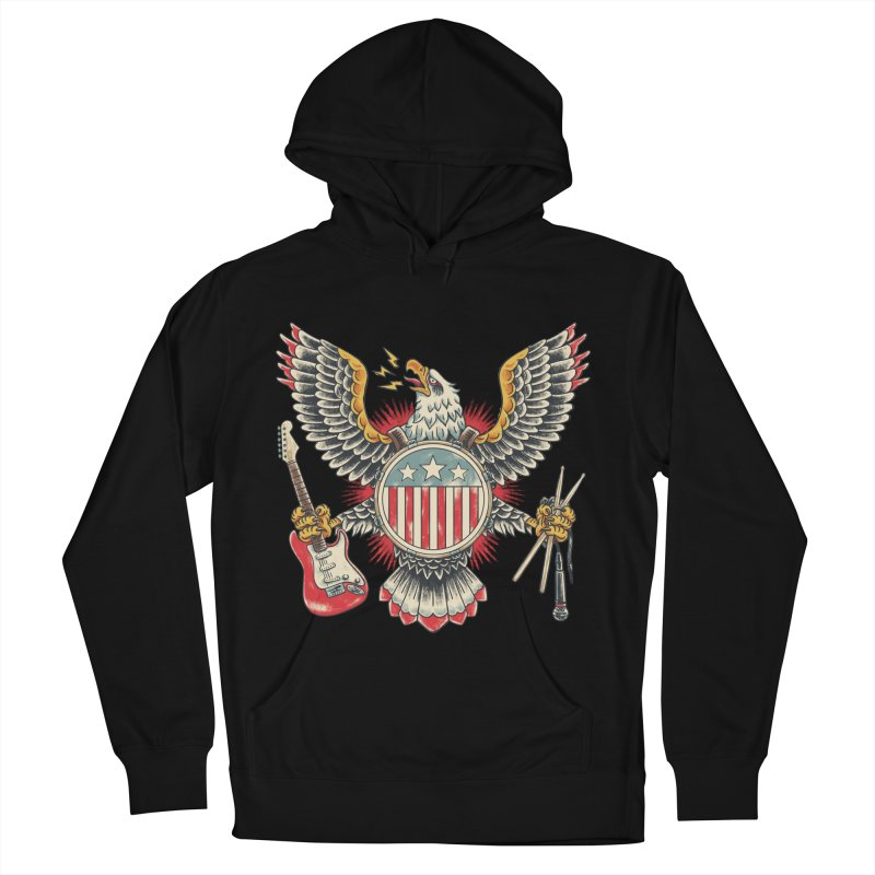 American Rockstar Women's Pullover Hoody by CPdesign's Artist Shop