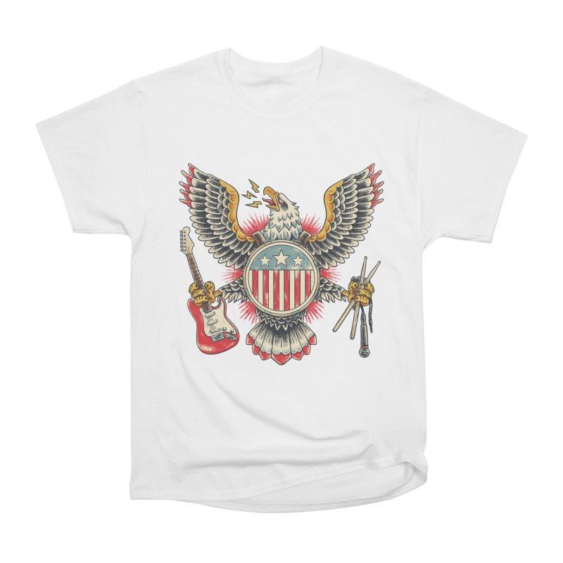 American Rockstar Men's Heavyweight T-Shirt by CPdesign's Artist Shop