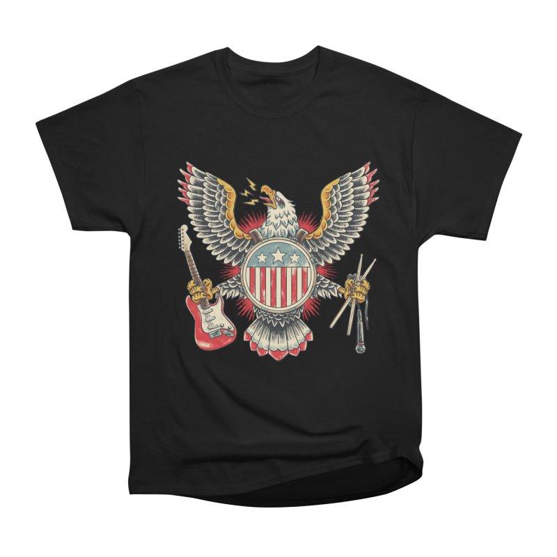 American Rockstar Women's Heavyweight Unisex T-Shirt by CPdesign's Artist Shop