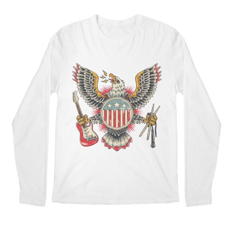 American Rockstar Men's Longsleeve T-Shirt by CPdesign's Artist Shop