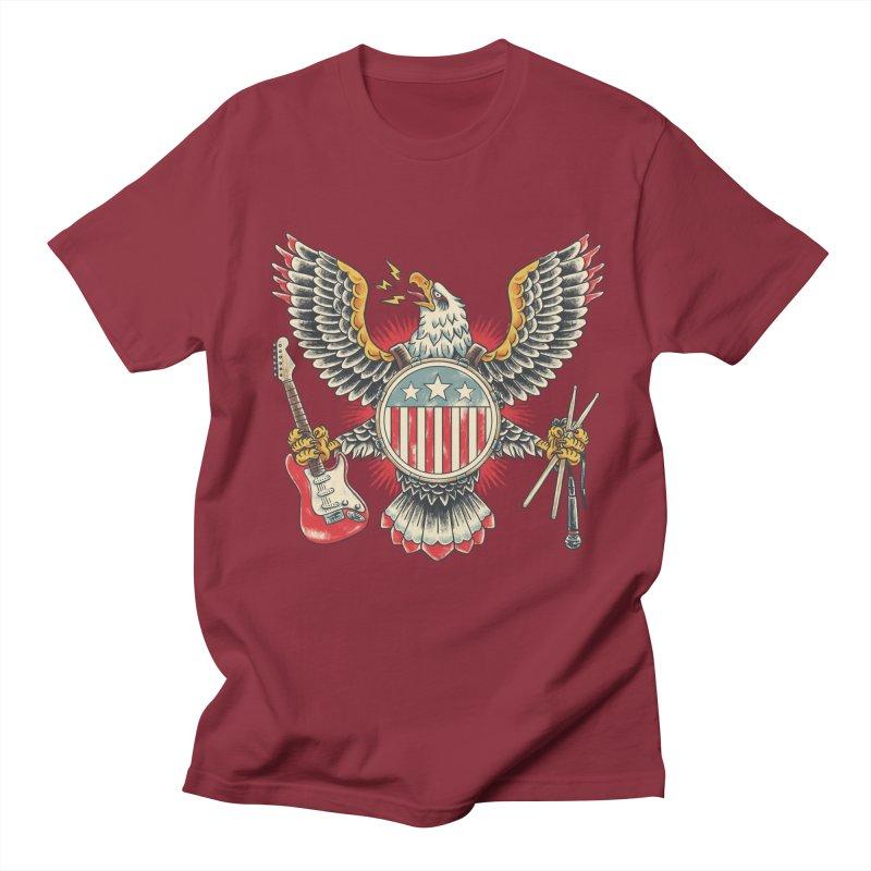 American Rockstar Women's Regular Unisex T-Shirt by CPdesign's Artist Shop
