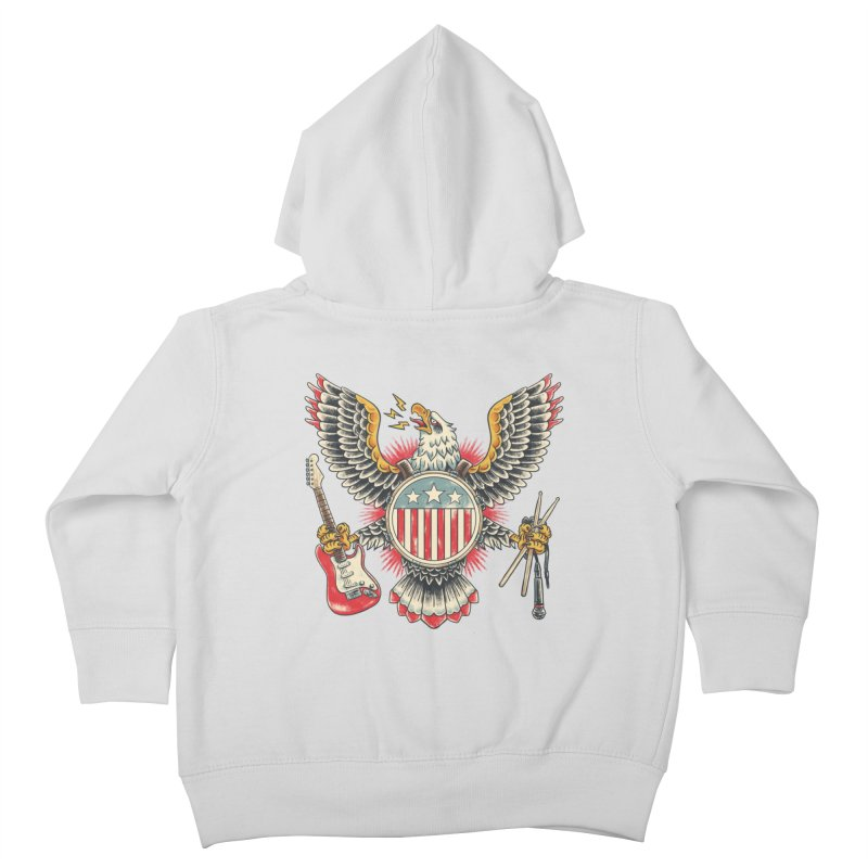 American Rockstar Kids Toddler Zip-Up Hoody by CPdesign's Artist Shop