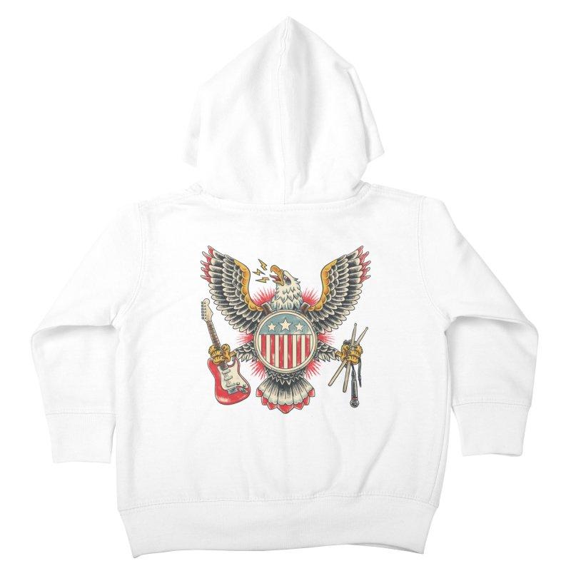 American Rockstar Kids Toddler Zip-Up Hoody by CPdesign's Artist Shop