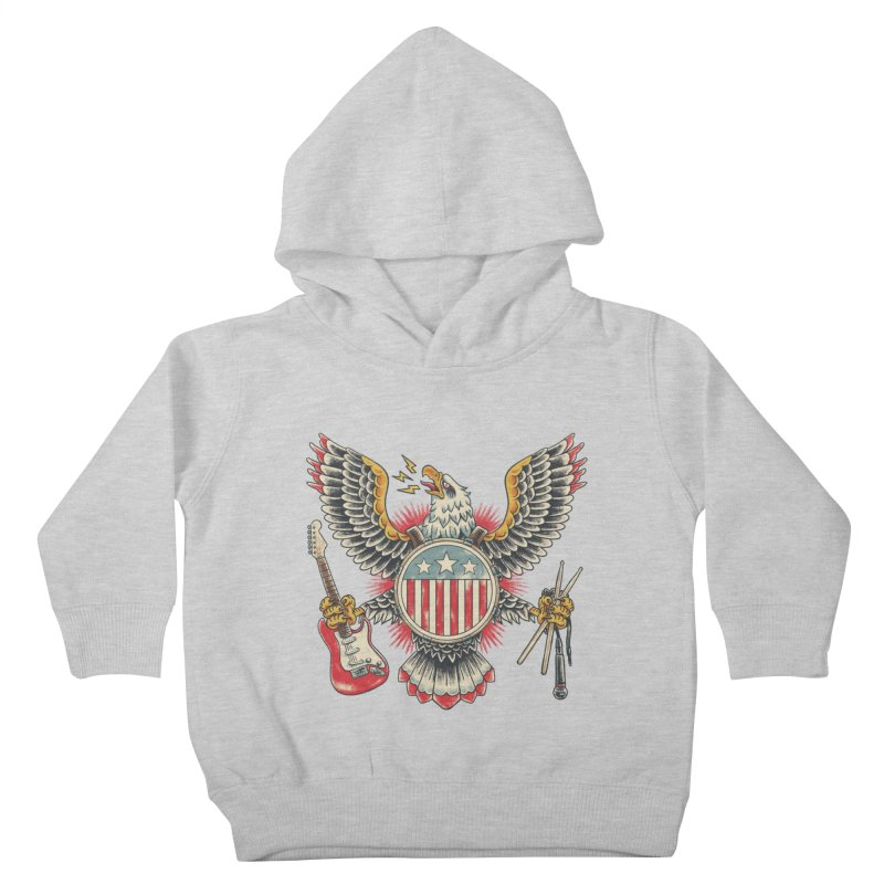 American Rockstar Kids Toddler Pullover Hoody by CPdesign's Artist Shop