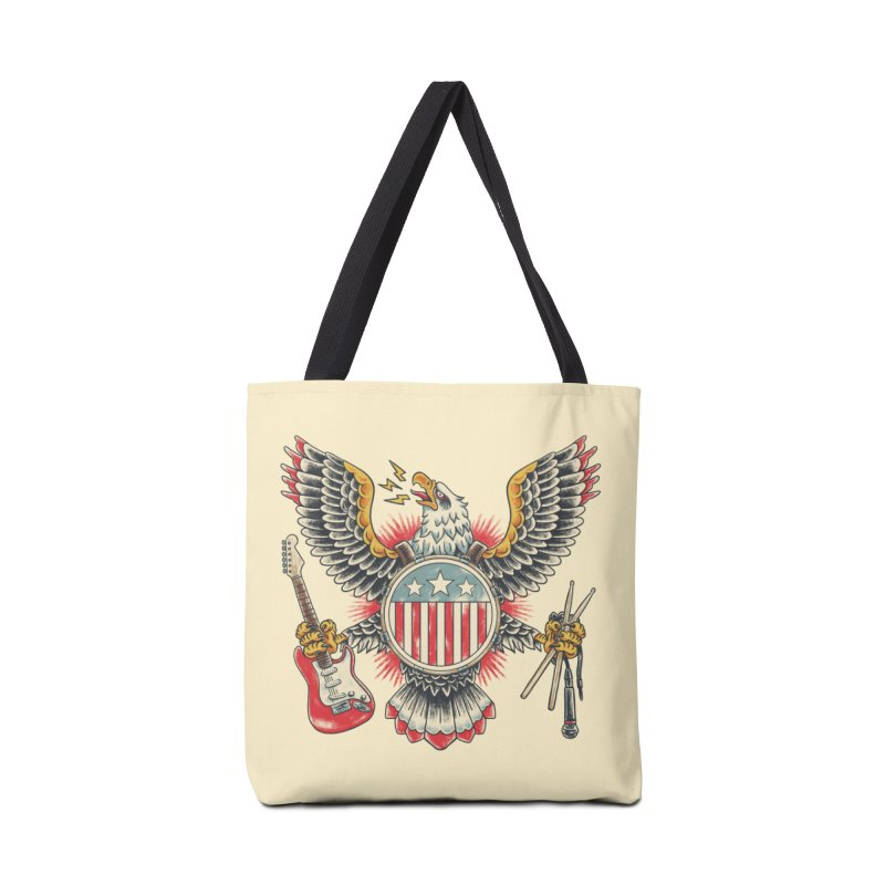 American Rockstar Accessories Tote Bag Bag by CPdesign's Artist Shop