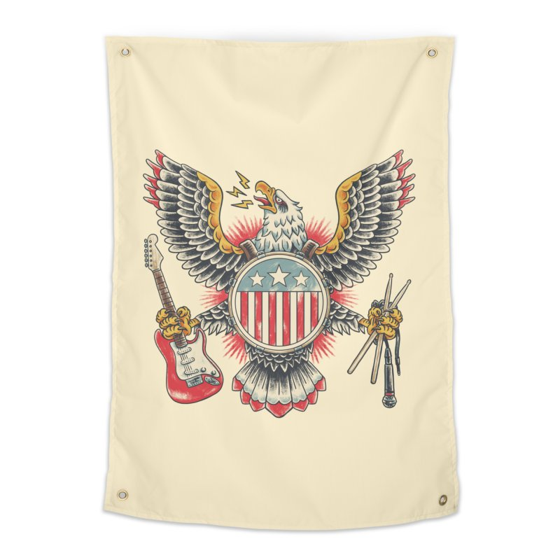 American Rockstar Home Tapestry by CPdesign's Artist Shop