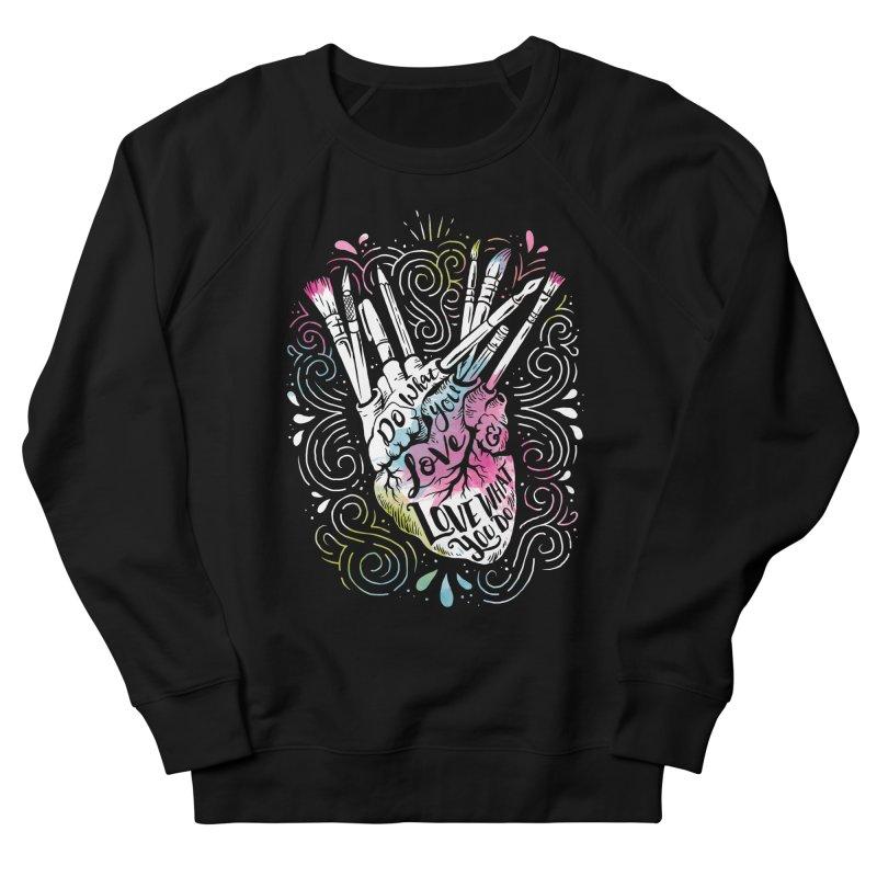 A Heart For Art Women's Sweatshirt by CPdesign's Artist Shop