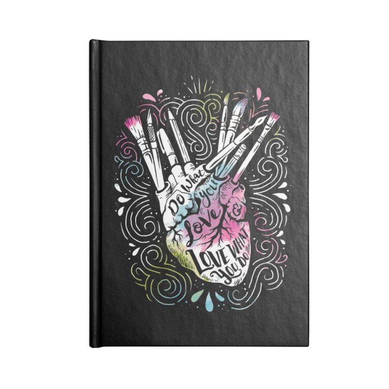 A Heart For Art Accessories Notebook by CPdesign's Artist Shop