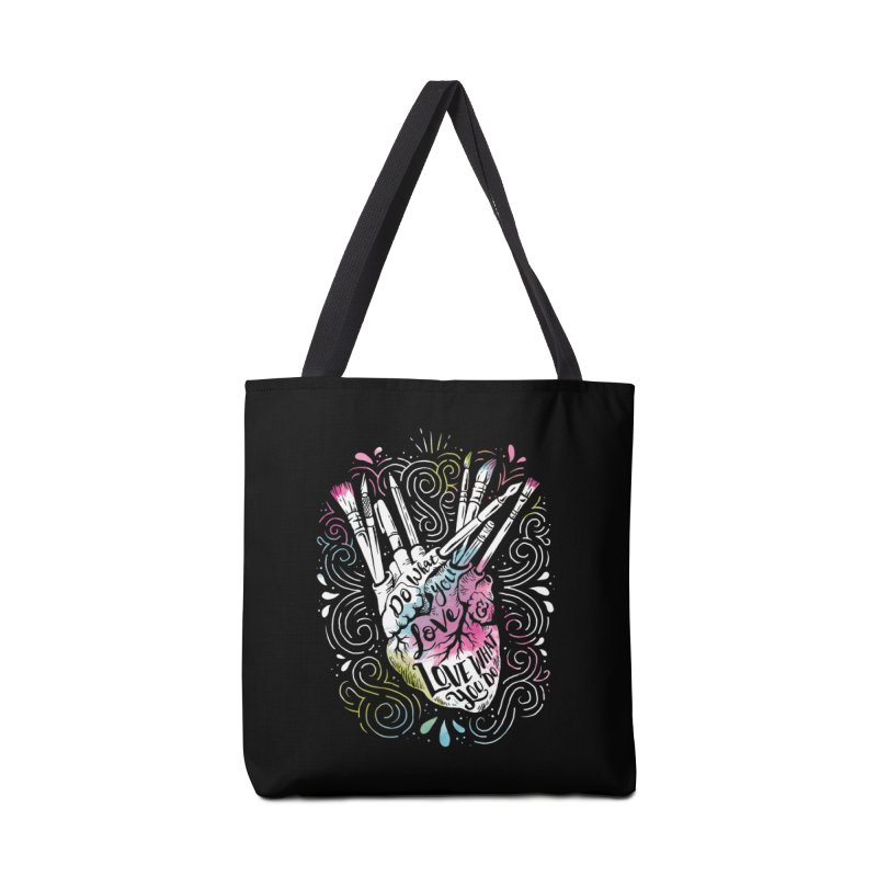 A Heart For Art Accessories Bag by CPdesign's Artist Shop