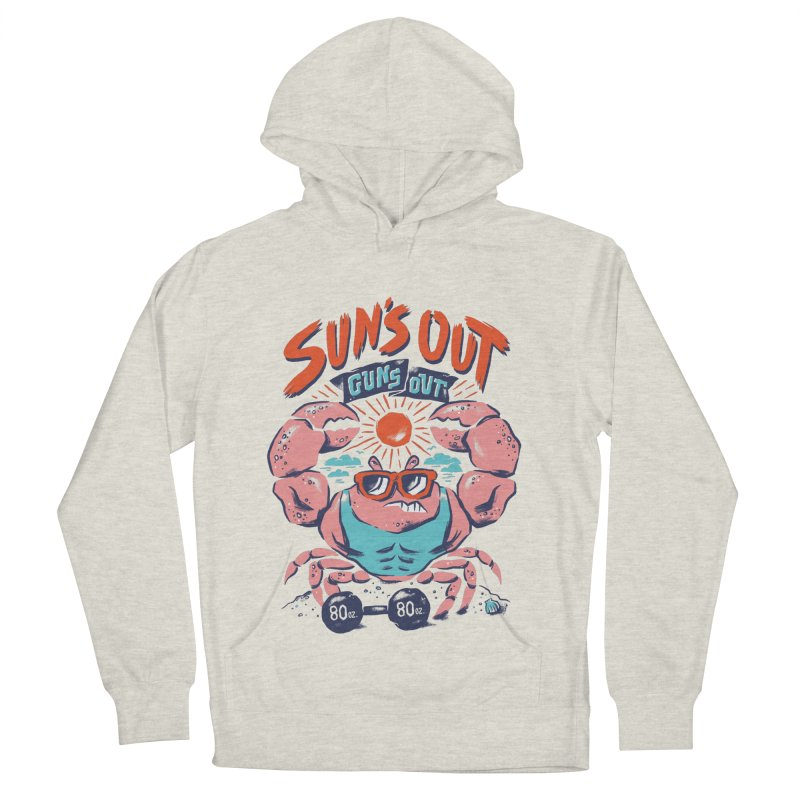 Suns Out Guns Out Women's French Terry Pullover Hoody by CPdesign's Artist Shop