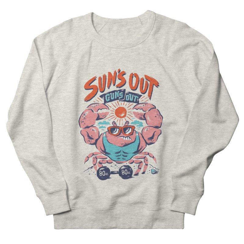 Suns Out Guns Out Men's Sweatshirt by CPdesign's Artist Shop