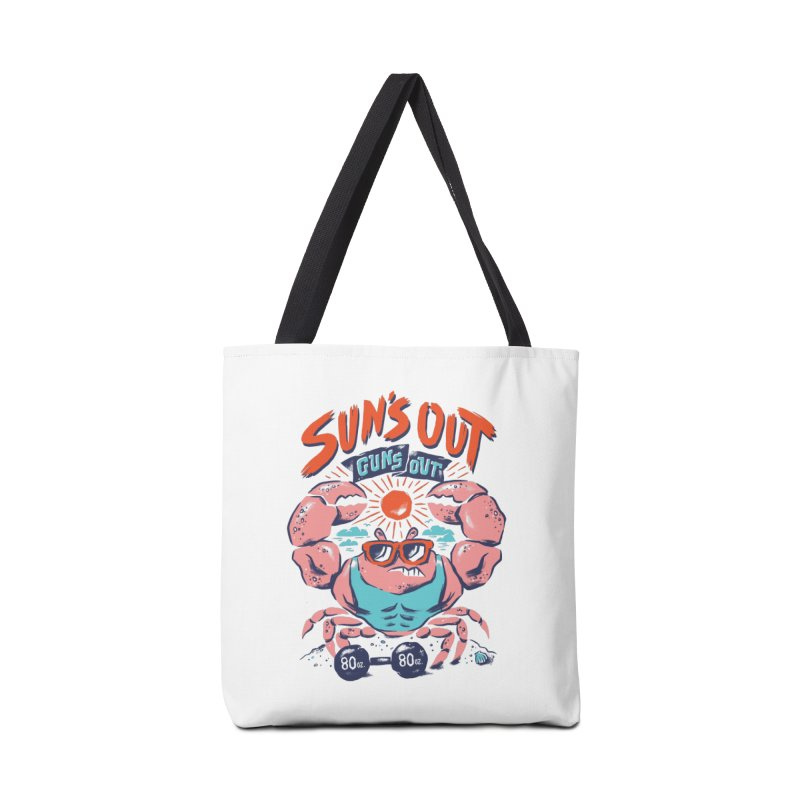 Suns Out Guns Out Accessories Tote Bag Bag by CPdesign's Artist Shop
