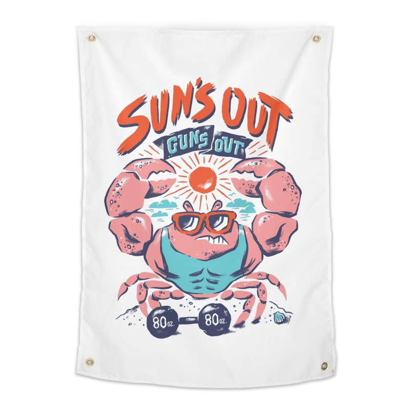 Suns Out Guns Out Home Tapestry by CPdesign's Artist Shop