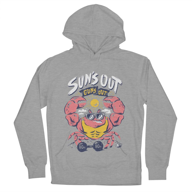 Suns Out Guns Out 2 Women's French Terry Pullover Hoody by CPdesign's Artist Shop