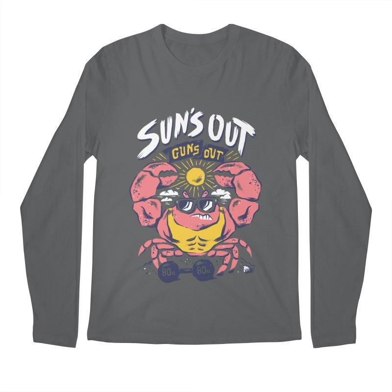 Suns Out Guns Out 2 Men's Longsleeve T-Shirt by CPdesign's Artist Shop
