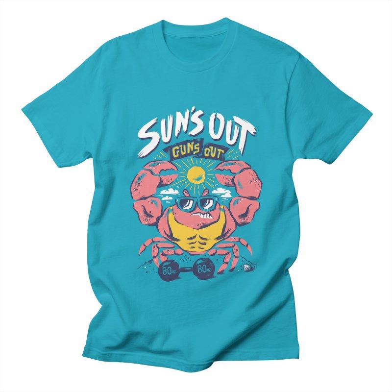 Suns Out Guns Out 2 Men's T-Shirt by CPdesign's Artist Shop