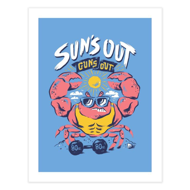 Suns Out Guns Out 2 Home Fine Art Print by CPdesign's Artist Shop