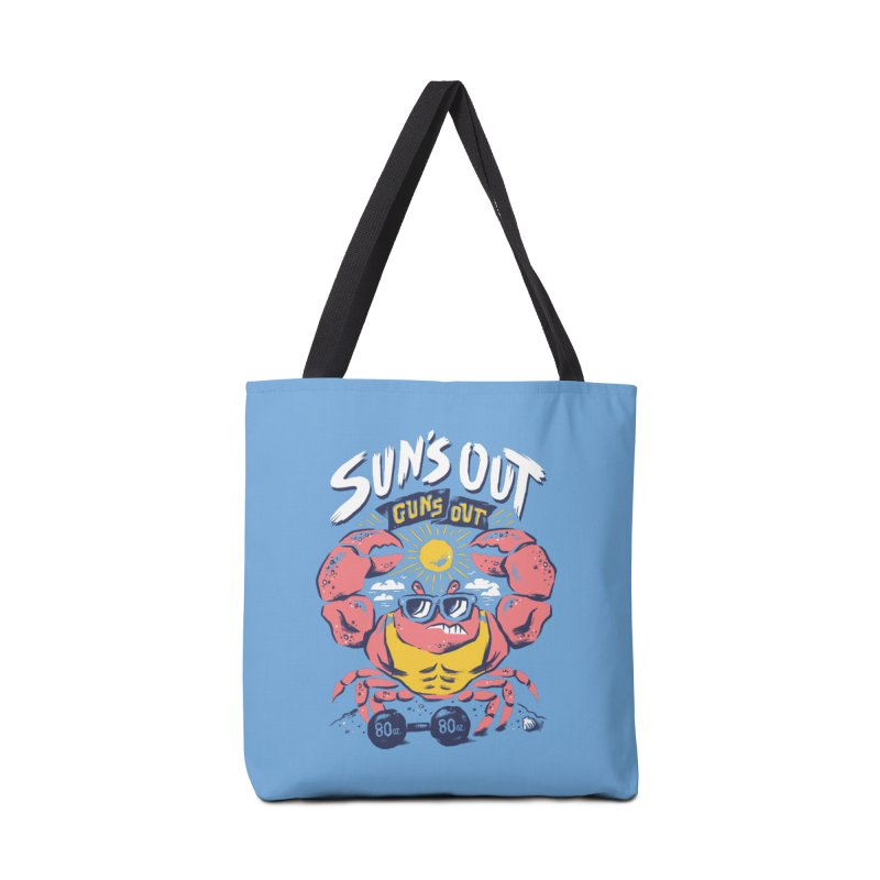 Suns Out Guns Out 2 Accessories Tote Bag Bag by CPdesign's Artist Shop