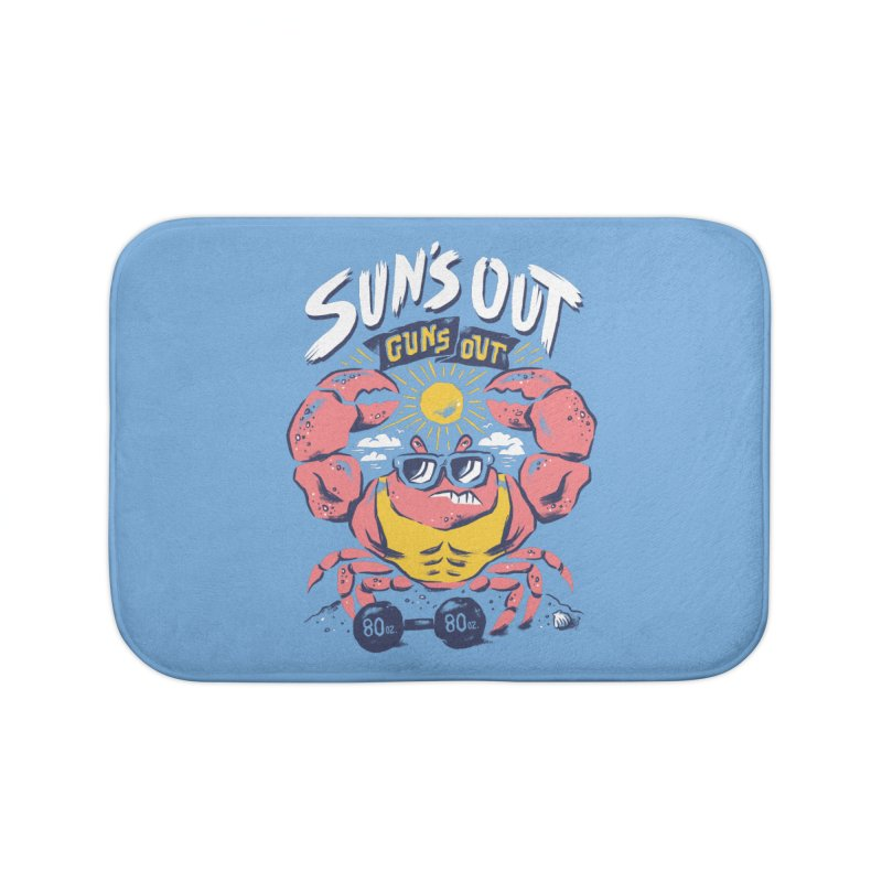 Suns Out Guns Out 2 Home Bath Mat by CPdesign's Artist Shop