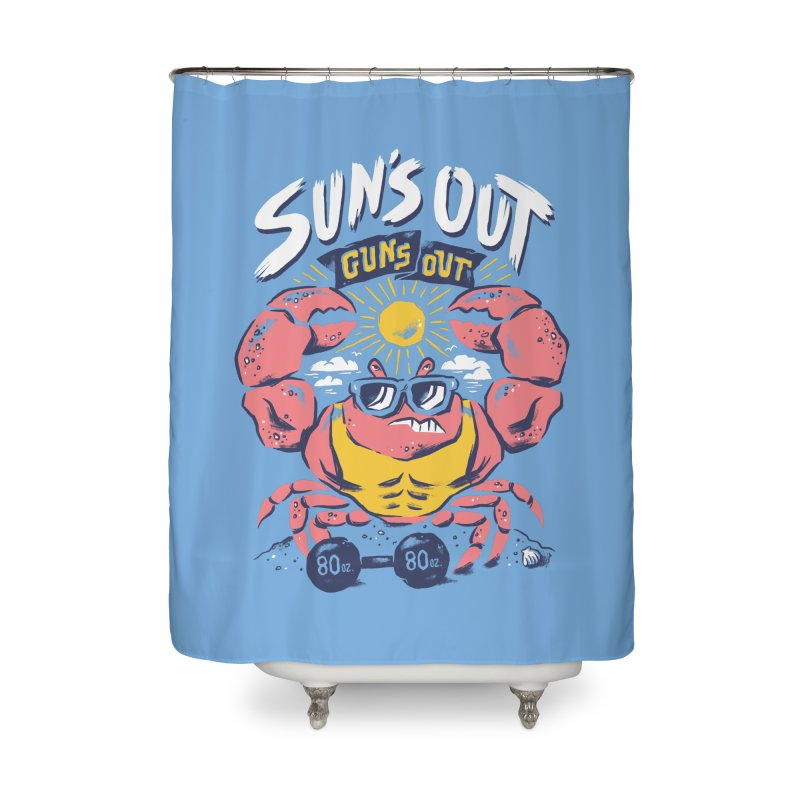 Suns Out Guns Out 2 Home Shower Curtain by CPdesign's Artist Shop