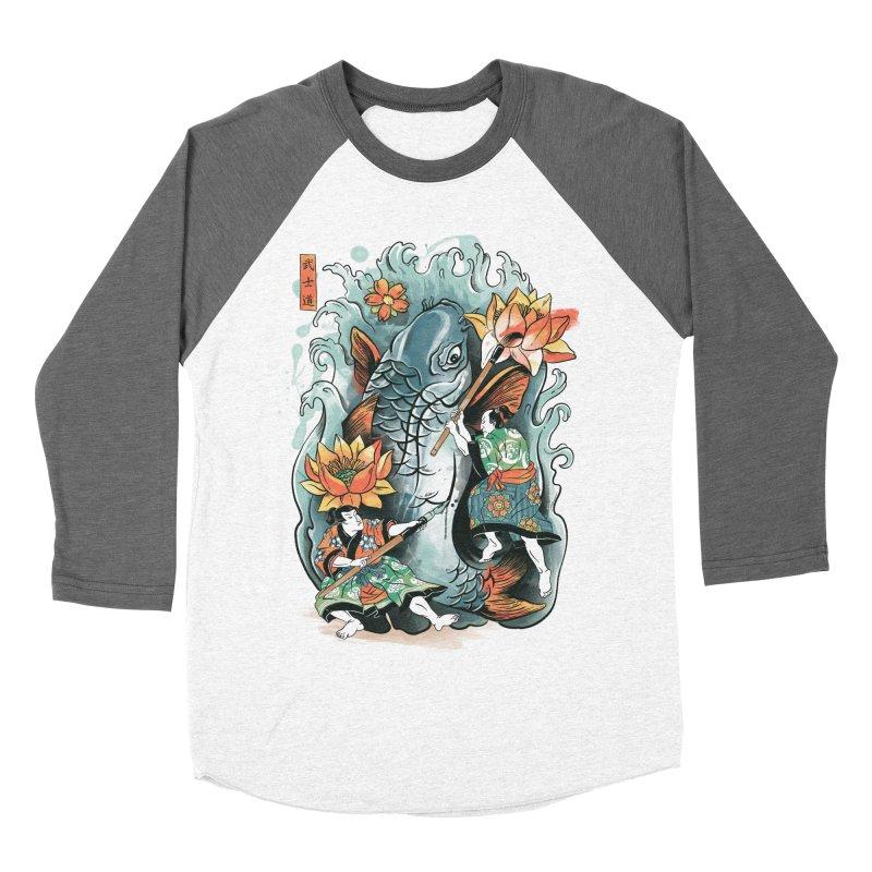 Make Art Not War Women's Baseball Triblend T-Shirt by CPdesign's Artist Shop