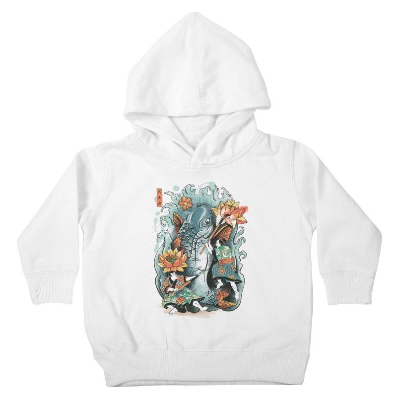 Make Art Not War Kids Toddler Pullover Hoody by CPdesign's Artist Shop