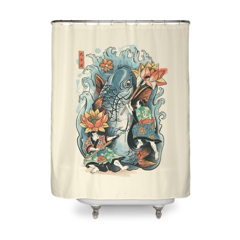 Make Art Not War Home Shower Curtain by CPdesign's Artist Shop