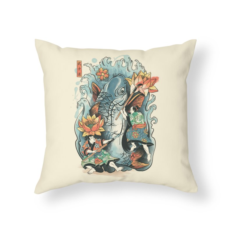 Make Art Not War Home Throw Pillow by CPdesign's Artist Shop