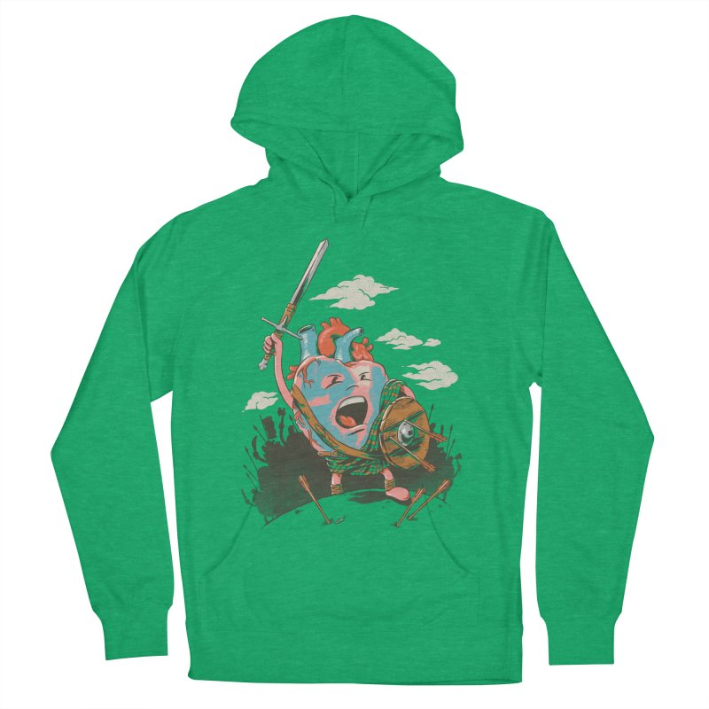 Braveheart Men's Pullover Hoody by CPdesign's Artist Shop