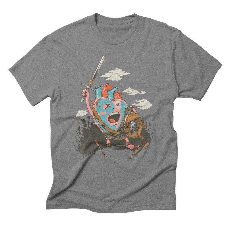 Braveheart Men's Triblend T-shirt by CPdesign's Artist Shop