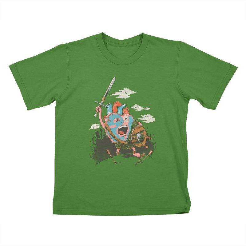 Braveheart Kids T-shirt by CPdesign's Artist Shop