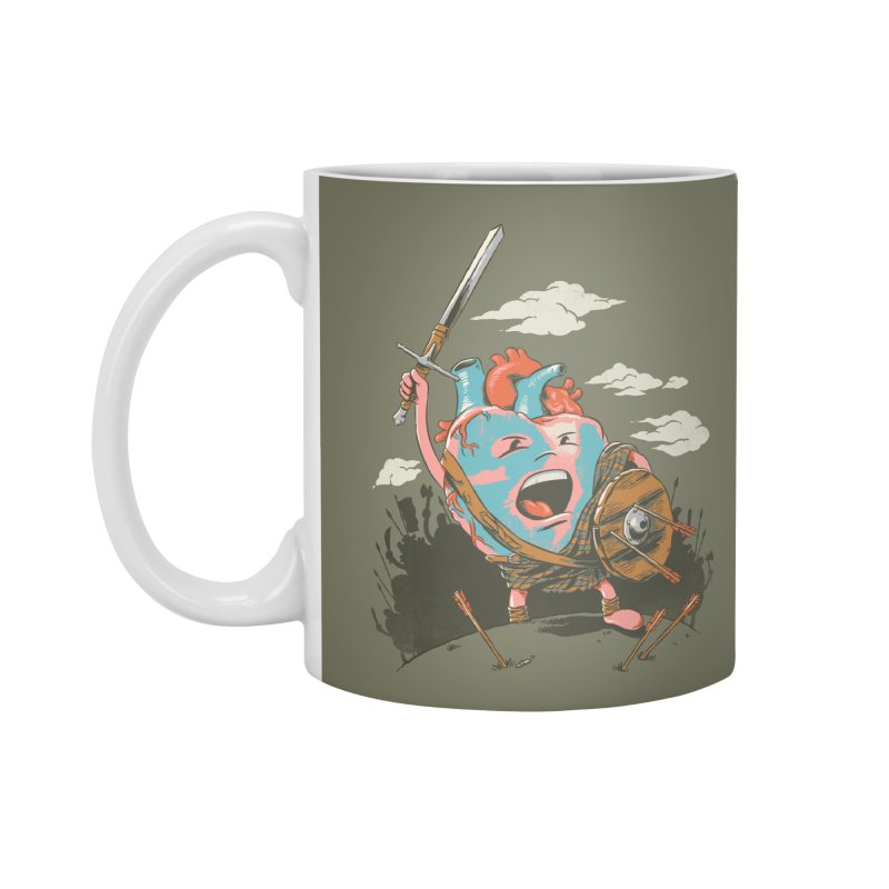 Braveheart Accessories Mug by CPdesign's Artist Shop