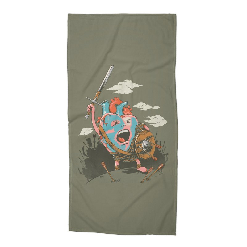 Braveheart Accessories Beach Towel by CPdesign's Artist Shop
