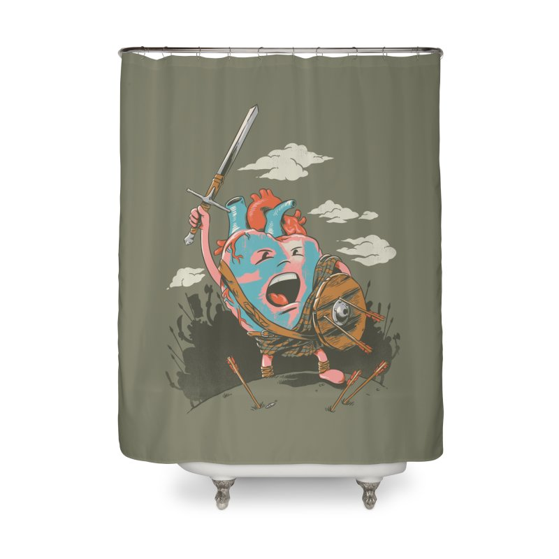 Braveheart Home Shower Curtain by CPdesign's Artist Shop