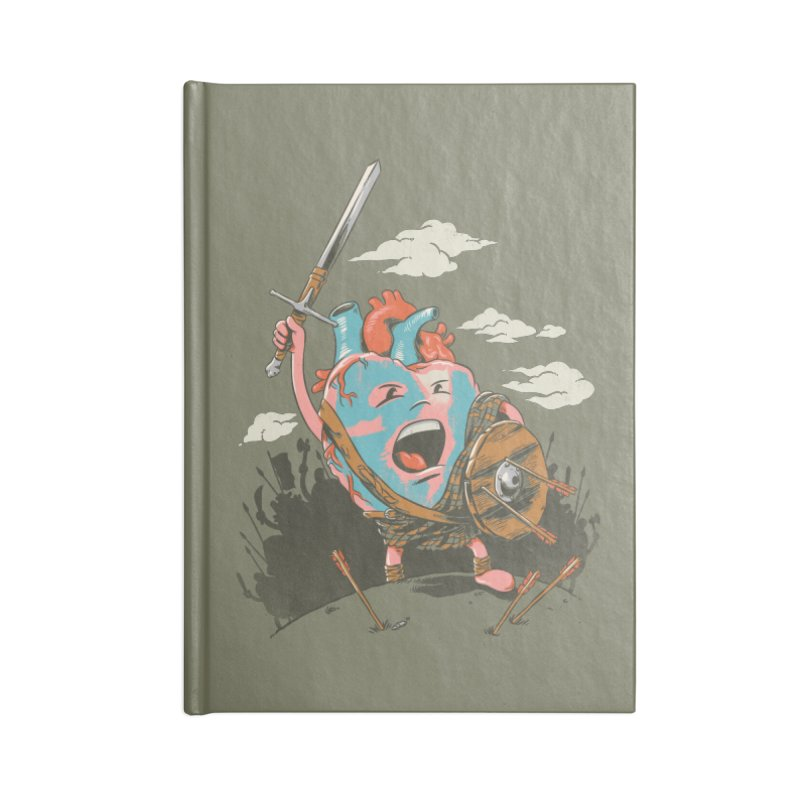 Braveheart Accessories Notebook by CPdesign's Artist Shop