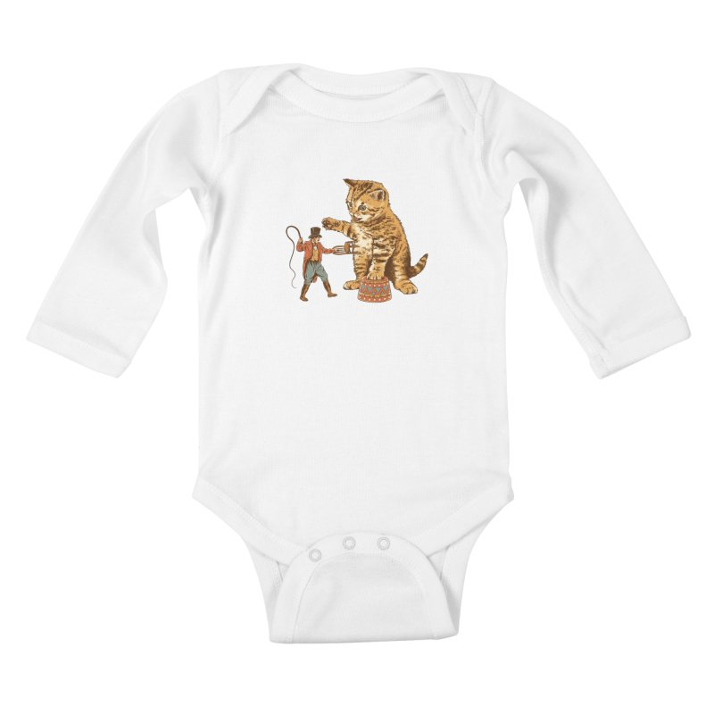 Training Day Kids Baby Longsleeve Bodysuit by CPdesign's Artist Shop